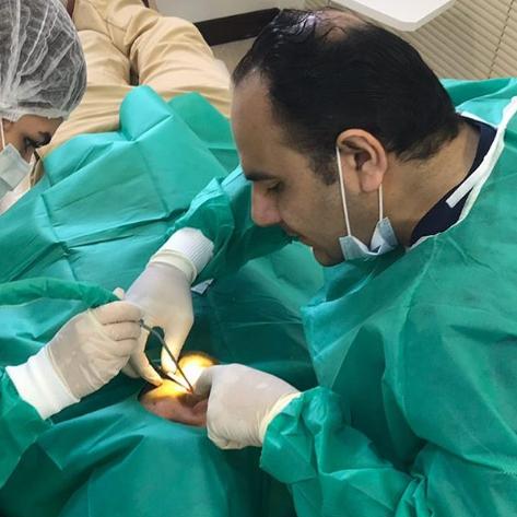 دکتر مهدی مرادی سروستانی - جراحی ایمپلنت